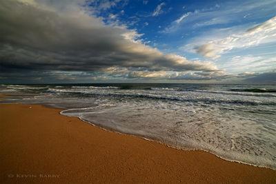 Sebastian Inlet State Park, Melbourne Beach, Florida, beach at sunrise
