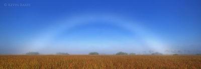 Fog bow, Everglades National Park, Florida