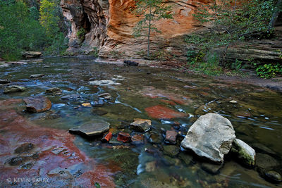 West Fork of Oak Creek in autumn, Sedona, Arizona