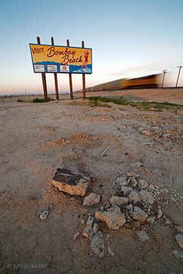 Last Train to Clarksville, The Salton Sea, Imperial County, California