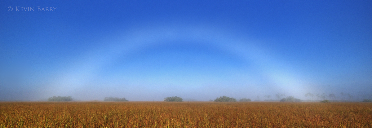Fog bow, Everglades National Park, Florida, photo