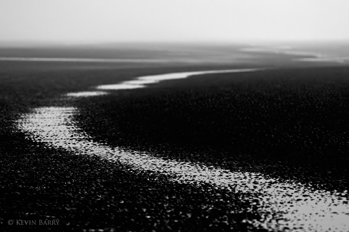 seashore abstract, Sea Rim State Park, Texas, photo