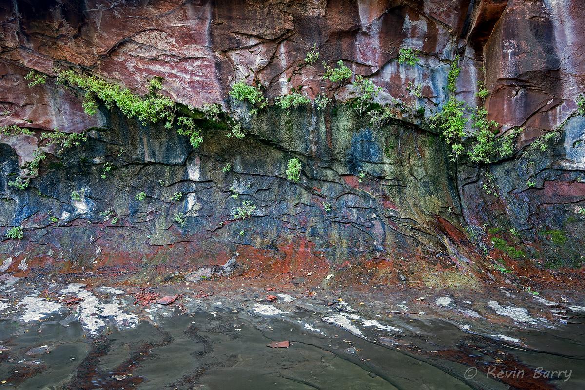 West Fork of Oak Creek Canyon, Sedona, Arizona, horizontal, abstract, beautiful, day, exterior, southwest, landscape, scenic...