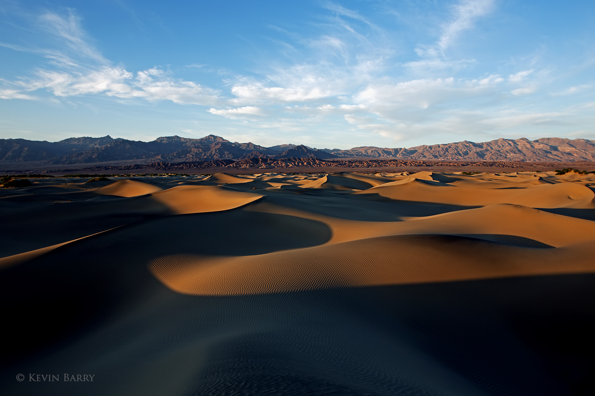 Mesquite Dunes, Death Valley National Park, California, photo